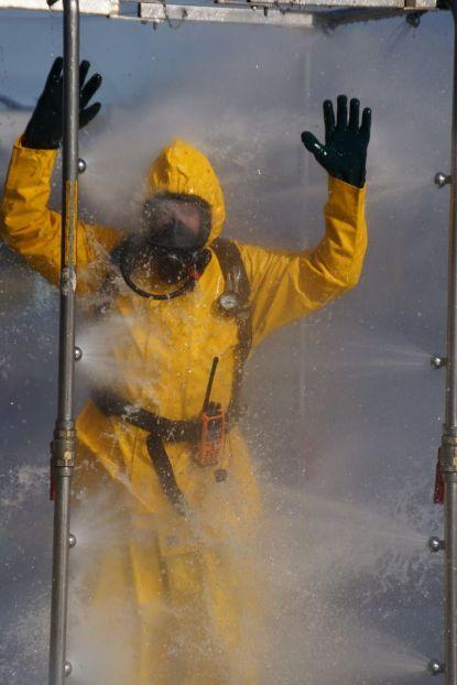 mucous decontamination